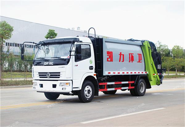 国五东风7方压suo式垃圾车