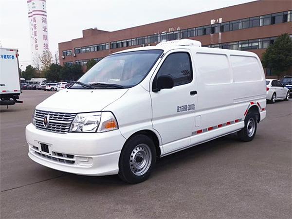 福田伽途2.8mi货厢冷cang车