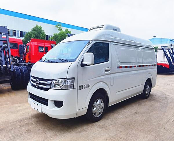 福田G7mian包商wu2.9mi冷cang车