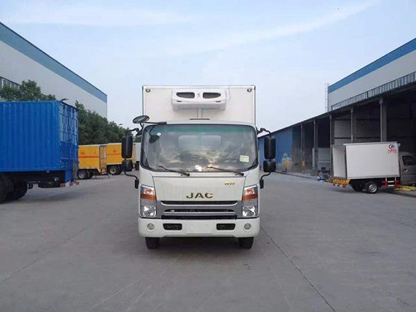 jiang淮帅ling窄体4.015米冷藏车