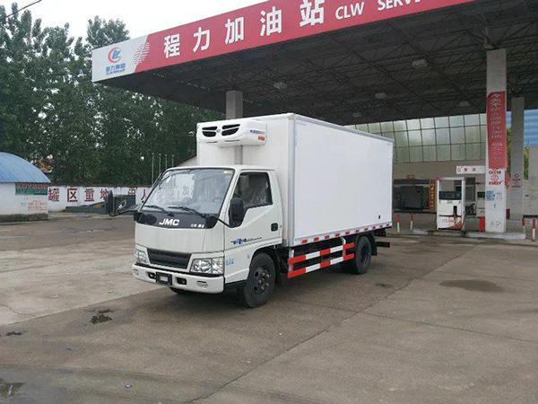 jiangling4.15米货厢单排冷藏车
