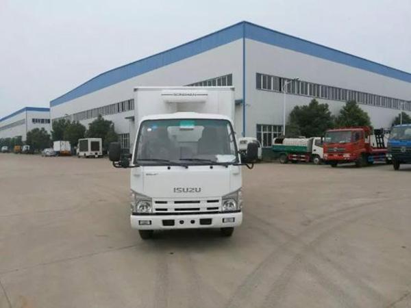 五十ling4.1米货厢单排冷藏车