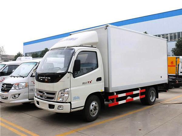 福tian奥ling4.085米冷藏车