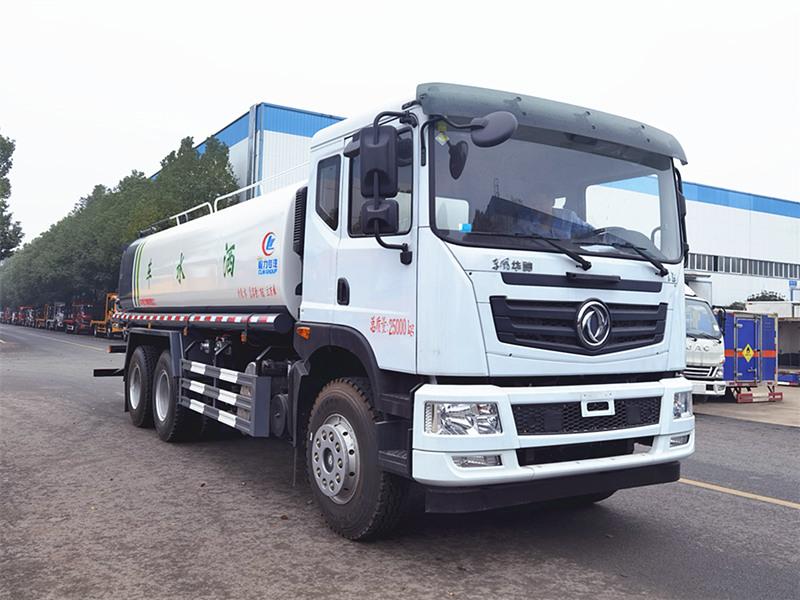 20吨东风T5后八轮洒水车国五车型特价促销