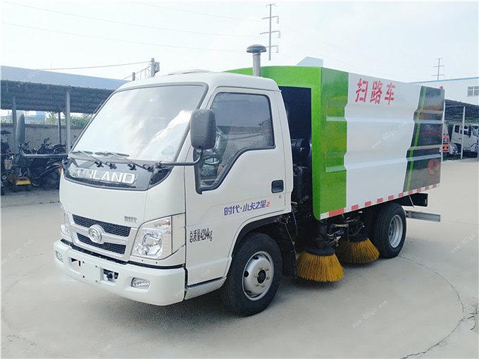 福田时代3方扫路车
