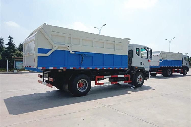 东风多利卡D9对接式垃圾车