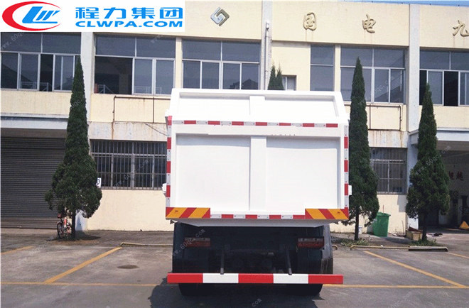 东风专用底盘对接式垃圾车
