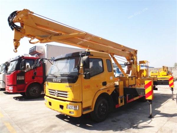 东风多利卡18米高空作业车