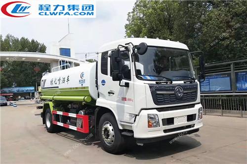 东风天锦国六洒水车图片