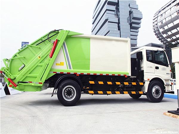 国五欧曼压缩式垃圾车
