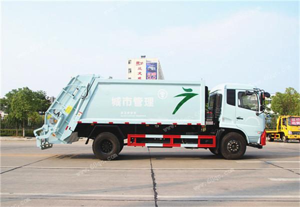 东风天锦压缩式垃圾车