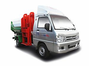 福田驭菱3fanggua桶垃圾车