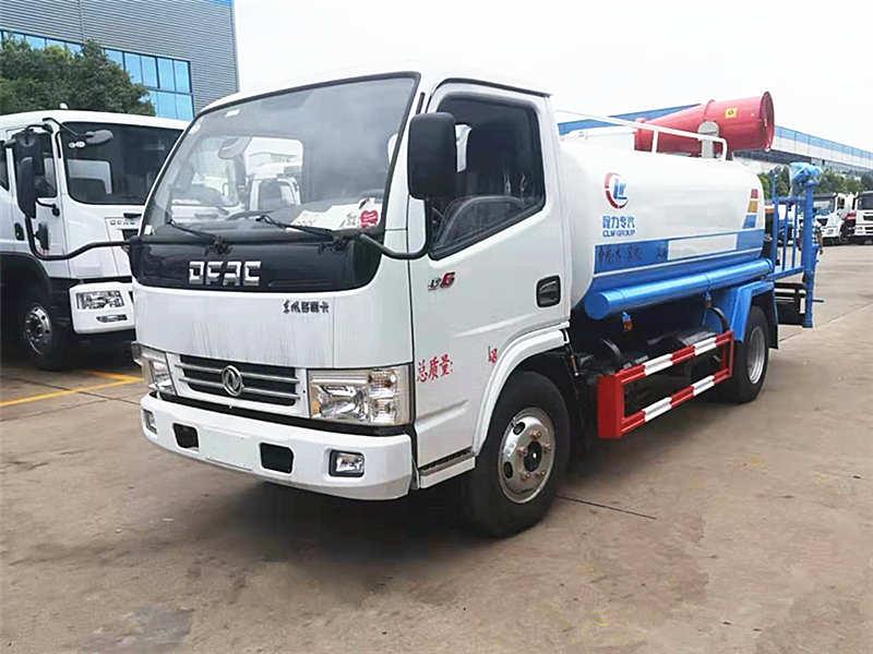 湛江市政公司广东分公司购买东风5方雾炮洒水车