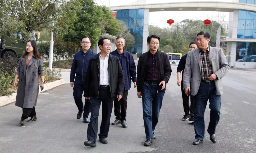湖北省研究室党组成员带队赴程力集团调研指导工作