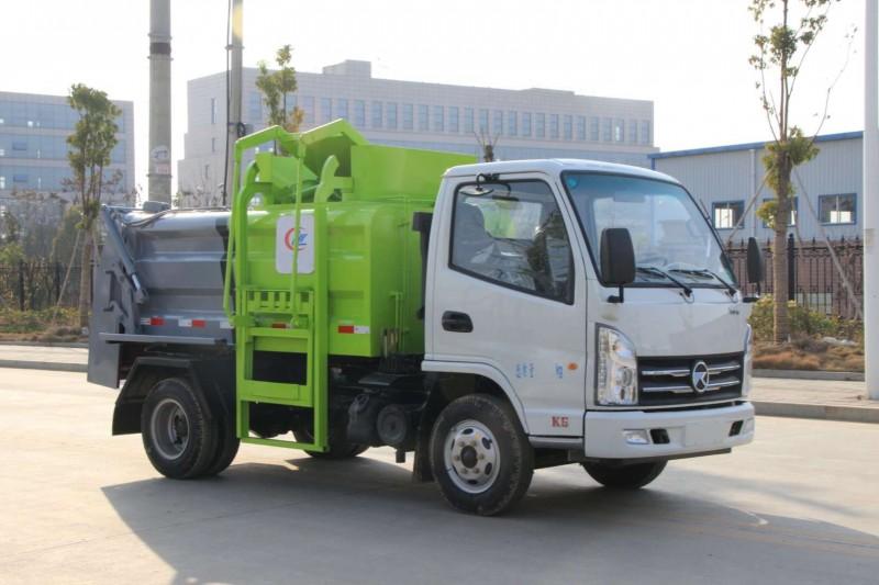 垃圾车怎么上户,压缩式垃圾车上蓝牌需要什么要求?