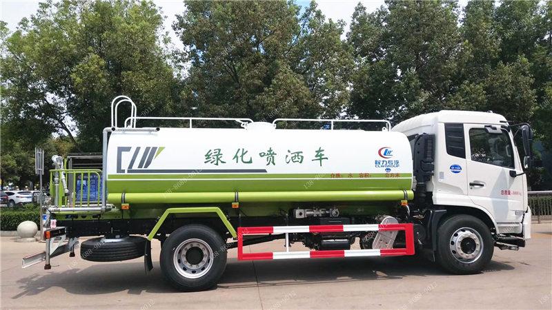 国六东风天锦14吨洒水车
