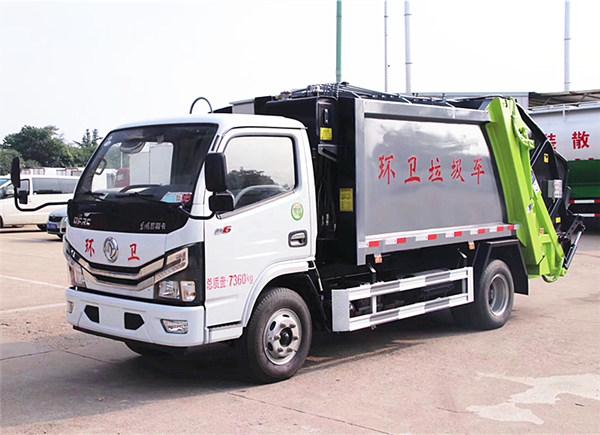 国六东风多利卡D6压缩垃圾车