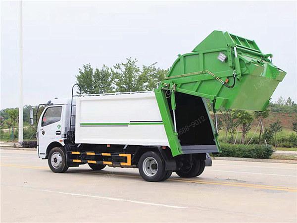 东风凯普特K7压缩垃圾车