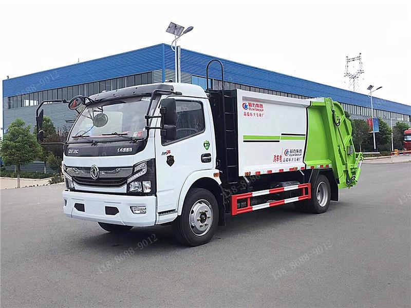 国六东风凯普特K7压缩垃圾车