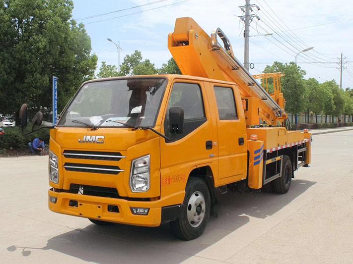 江铃双排17.5米直臂高空作业车